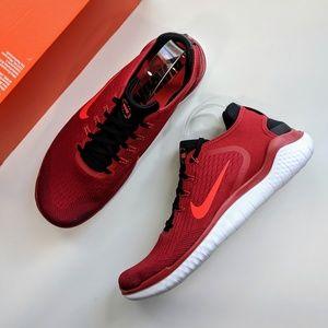 Nike Free RN 2018 Gym Red/Bright Crimson/Black